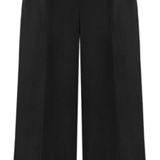 Black Elasticised High Rise Waist W..