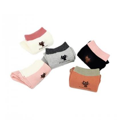 Women's 5 Pairs Gift Box Cute Littl..