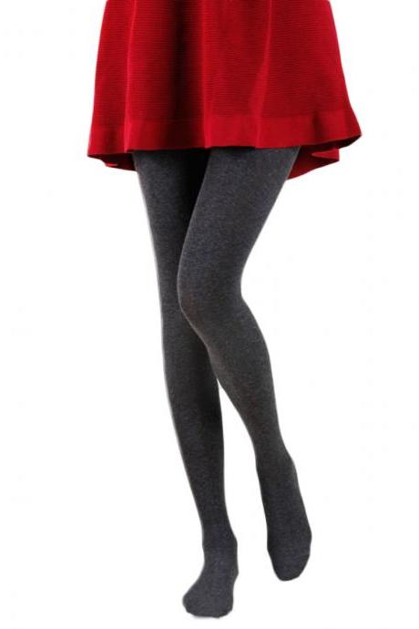 Women's Solid Sweet Warm Keeper Tights