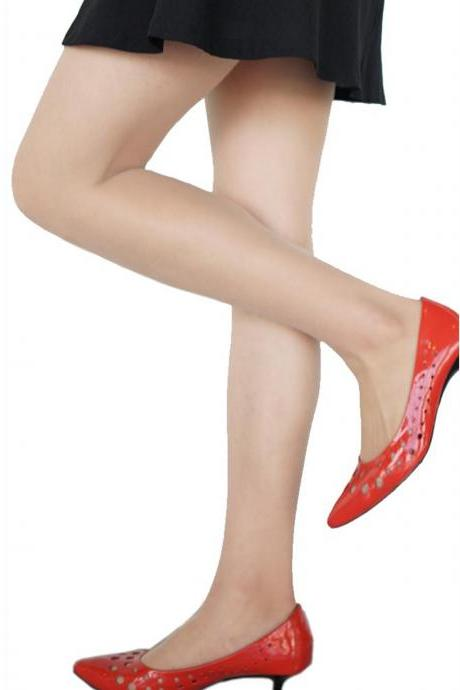 Women's Ultrathin Sheer Nude Invisible Stockings
