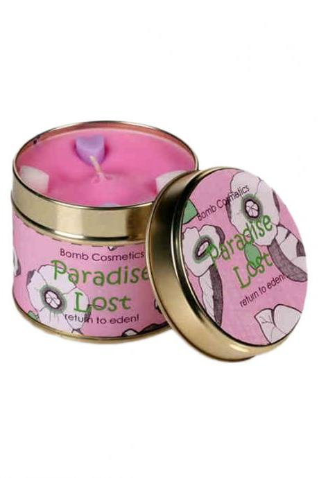 Paradise Lost Orange Grape Essential Oil Scented Candle