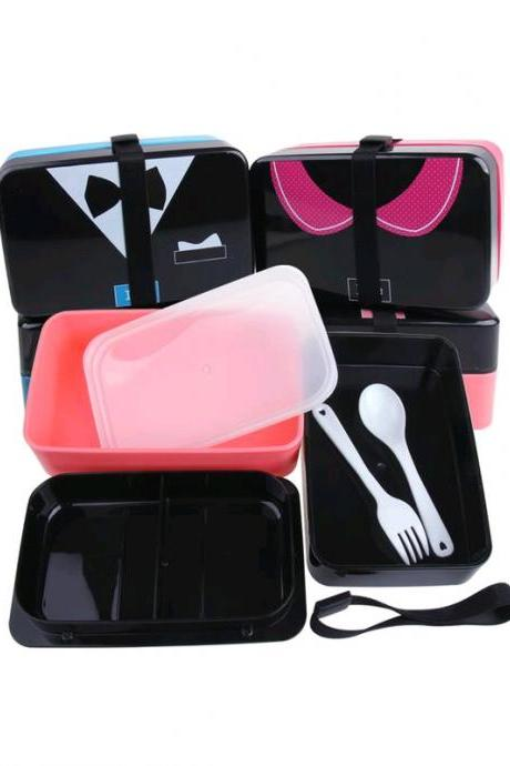 Lunch Box Delicate Sweet Design Fashion Shape Lunch Box